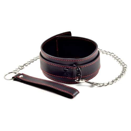 Bondage Fetish Pleasure Collar - obroża ze smyczą.jpg