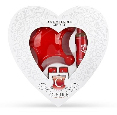 Love & Tender Giftset White/Red