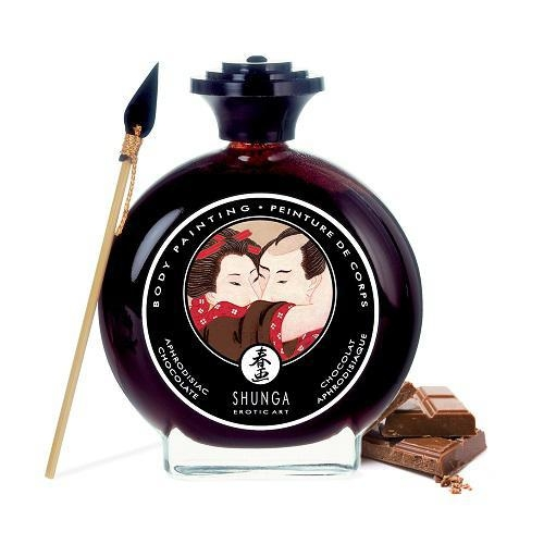SHUNGA Body Painting Aphrodisiac Chocolate - czekolada do pisania po ciele